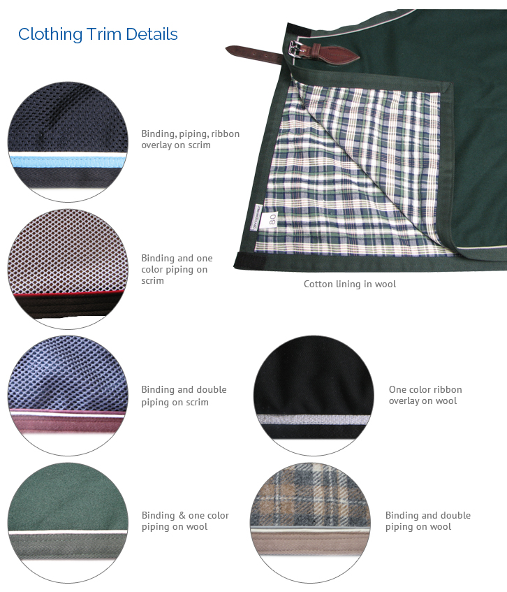 Clothing Trim Details