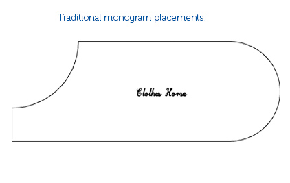 Monogram Placements