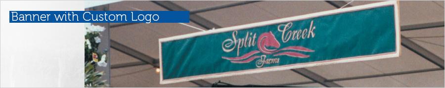 Banner with Custom Logo